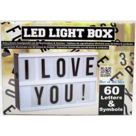 Led Light Box -valotaulu
