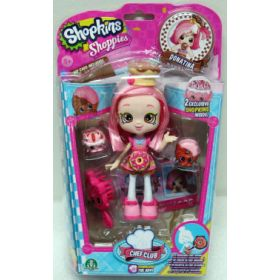Shopkins Shoppies Chef Club -nukkepakkaus
