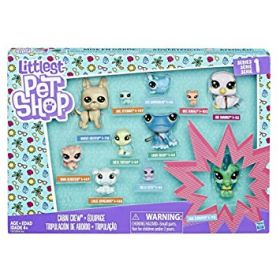 Littlest Pet Shop Cabin Crew hahmosetti