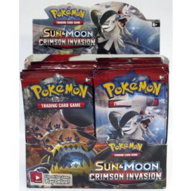 Pokémon Sun & Moon Crimson Invasion -boosteripakka