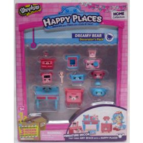 Shopkins Happy Places Dreamy Bear -huonekalupakkaus