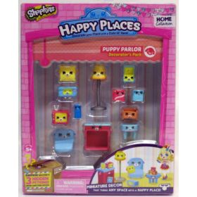 Shopkins Happy Places Puppy Parlor -huonekalupakkaus