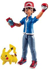 Pokemon Battle Figure Pack Ash + Pikachu