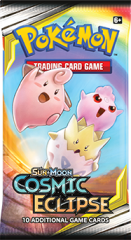 Pokemon Sun & Moon Cosmic Eclipse boosteri Togepi