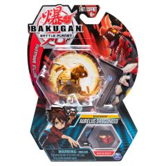 Bakugan Battle Planet Aurelus Dragonoid ruskea